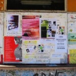 "And lest the old rumpsprung adults should feel left out, September brings a truckload of learn-this programs and activities.  The useless dead vaporetto ticket booth is one of the local billboards, which at the moment are advertising classes in: Indian ""Bollywood"" dancing; belly-dancing; karate; cutting and sewing; languages (English, Spanish, French, Russian, Chinese, Japanese, American English, American Slang; Zumba; Latin ballroom dances; yoga for children; theatre for children, and so on.  It's the educational version of your New Year's Resolutions all thrown into a pot and set on fire."