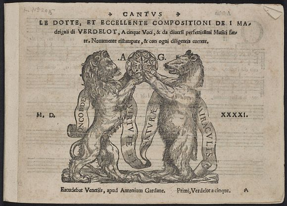 The title page of