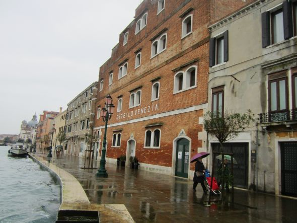 I suppose one small drawback is that it's on the Giudecca, but some people may see that as an advantage.