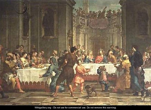 wedding Wedding Feast at Cana by Bartolomeo Litterini Something about George